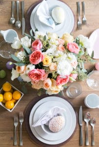 An Easter Brunch with Crate and Barrel