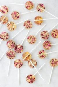 Homemade Rose Lollipops!
