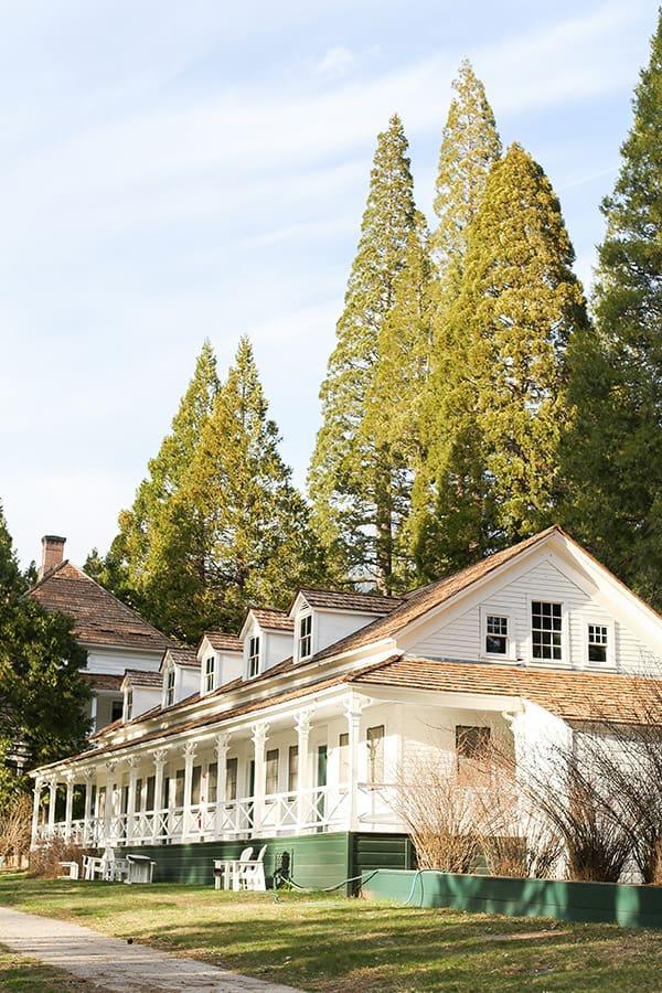 Big Trees Lodge in Yosemite