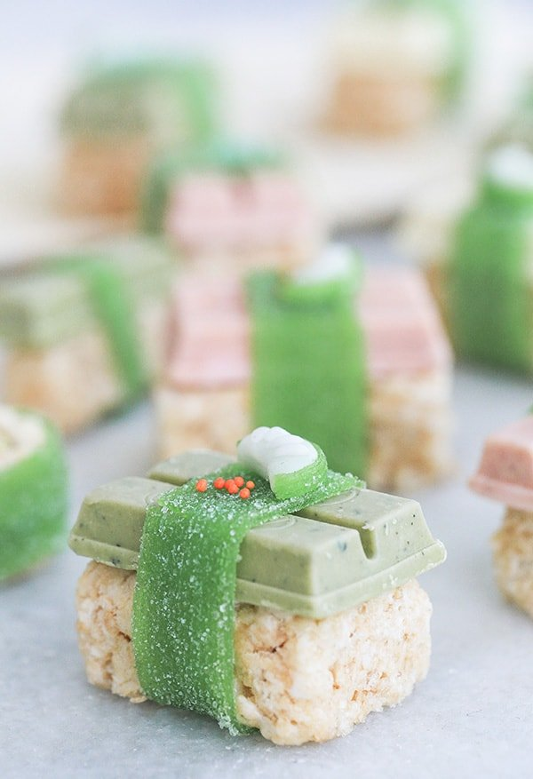 Kit Kat Sushi on rice krispies