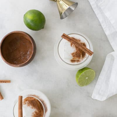 Three Ingredient Coconut Margarita
