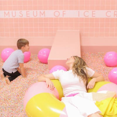 Visiting the Museum of Ice Cream