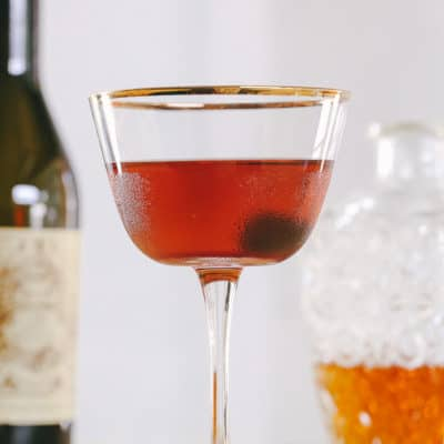How-to Make a Manhattan Cocktail