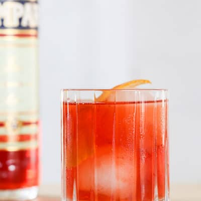 Negroni cocktail recipe from Classic Cocktails Sugar and Charm