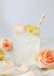 Rose Water Gin Cocktail