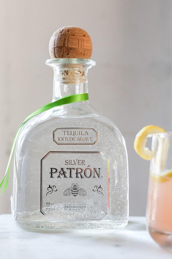 Bottle of Silver Patron.