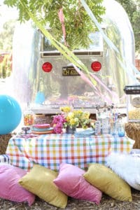 A Colorful Carnival Dinner Party