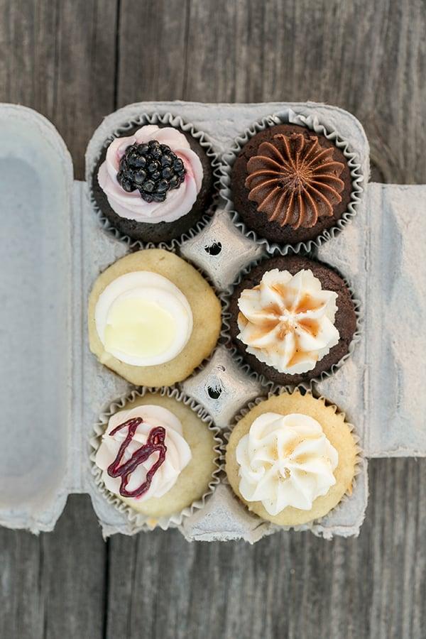Enjoy Cupcakes in an egg carton.