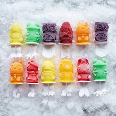 Zoo Character Popsicle Molds