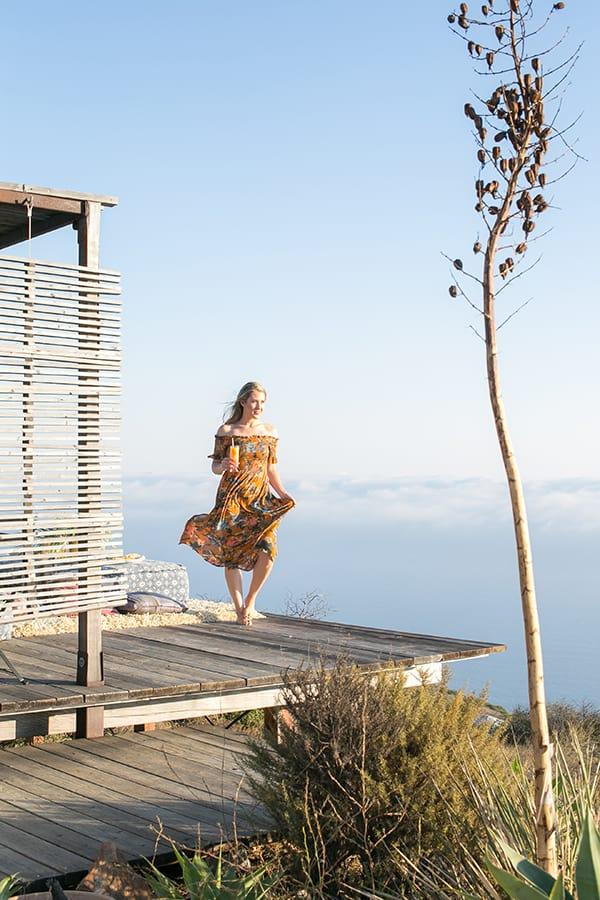 Eden Passante in Malibu.