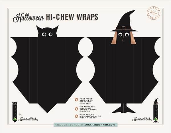Hi-chew candy wrap Halloween candy
