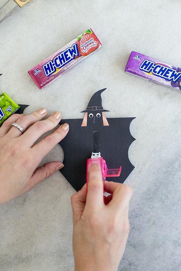 Making a candy wrapper for Hi-Chew candy