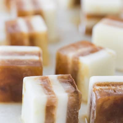 Pumpkin Spice Hazelnut Coffee Cubes