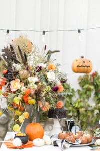 A Charming & Traditional Halloween Party