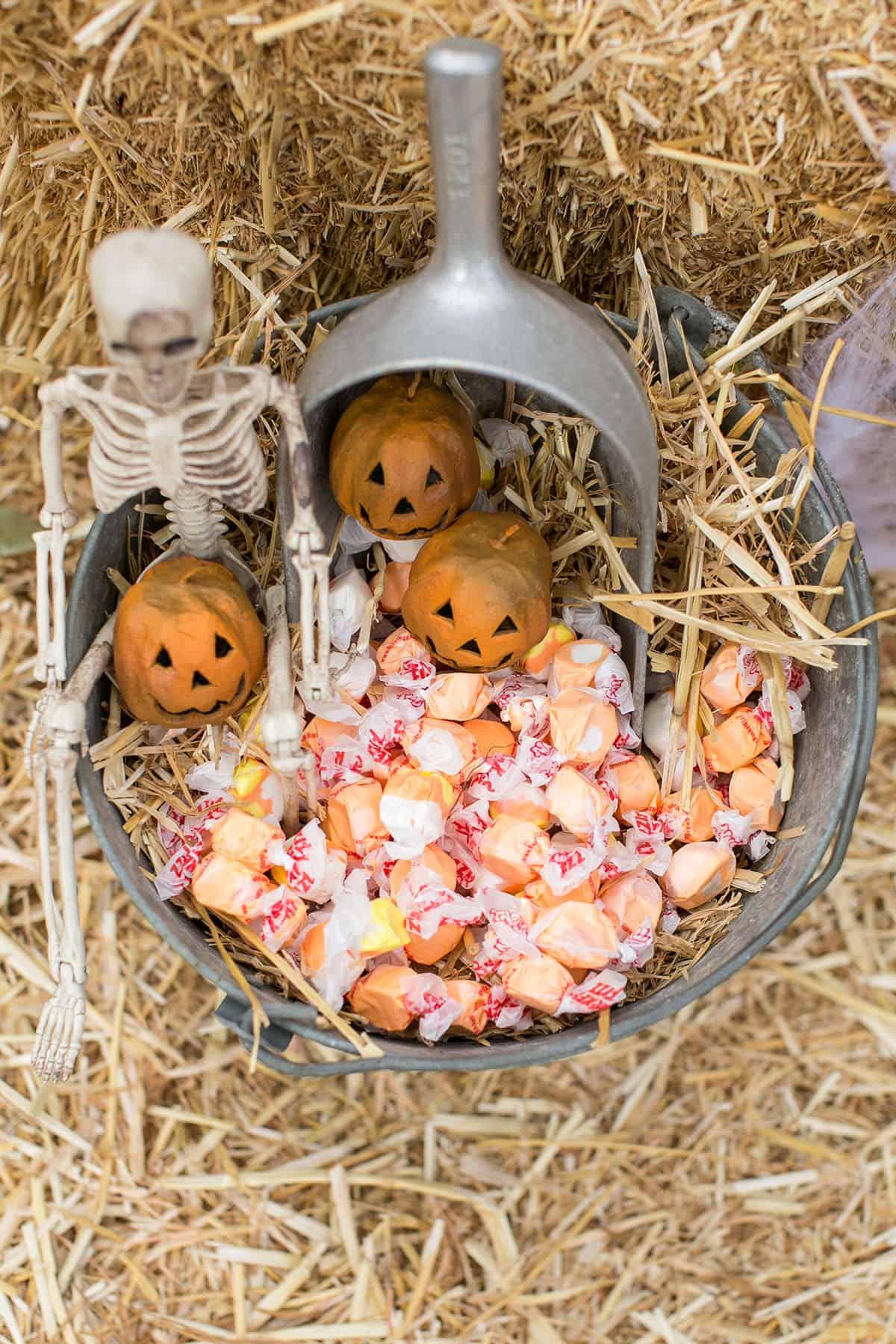 vintage Halloween candy