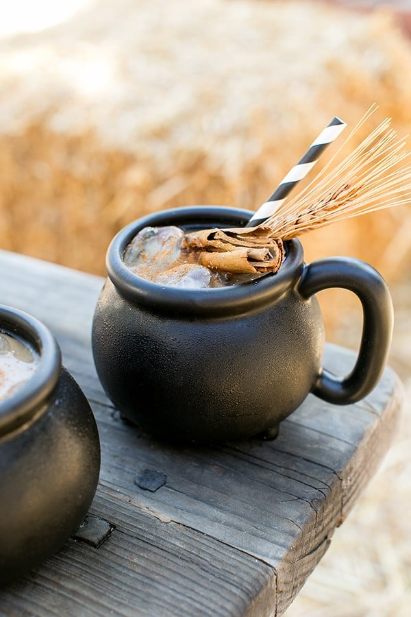 Witch S Brew Iced Coffee A Coffee Punch Recipe Sugar And Charm