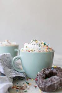 Hot Chocolate Glazed Donuts Coffee Recipe