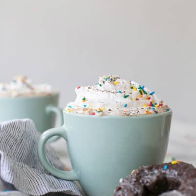 Hot Chocolate Glazed Donuts Coffee Recipe