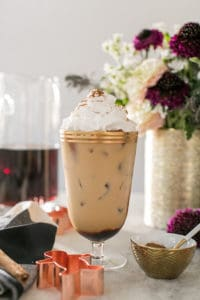Gingerbread Cold Brew Latté