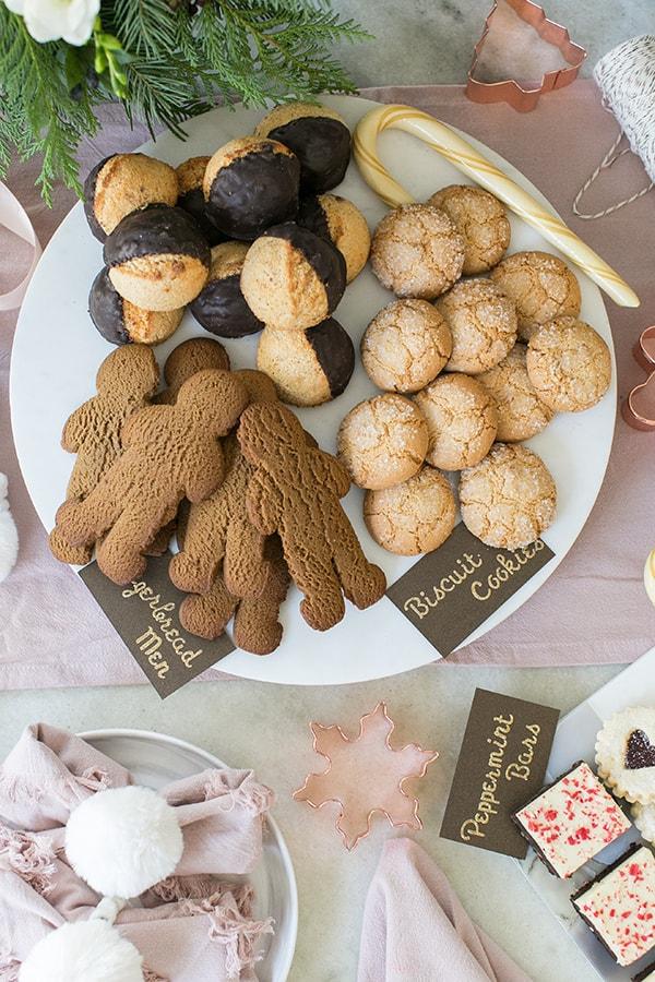 sweet treats no a platter