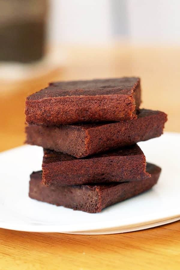Three Ingredient Brownies