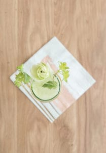 Welcome Spring with a Cucumber + Kiwi Gimlet Recipe