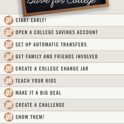 10 Ways to Help Your Kids Save for College