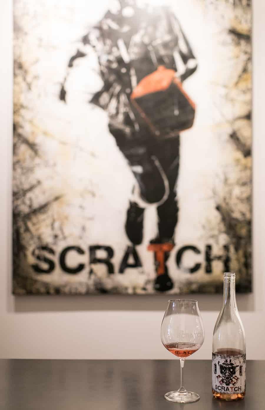 Scratch wine in Carmel
