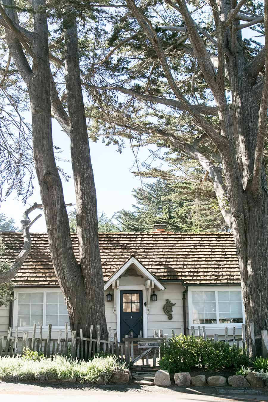Cottage in the village on Carmel California