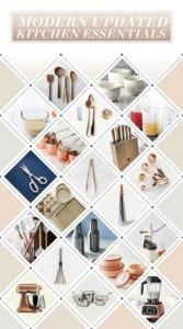 Modern Updated Kitchen Essentials