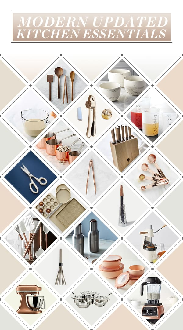 I M Beyond Excited About This Modern Updated Kitchen Essentials List Recently Moved Everything Back Into Our Newly Remodeled And Realized