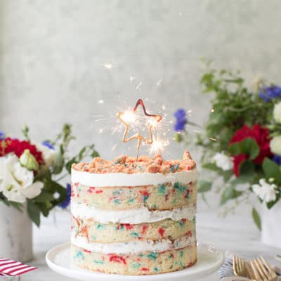 Momofuku Milk Bar's 4th of July Cake