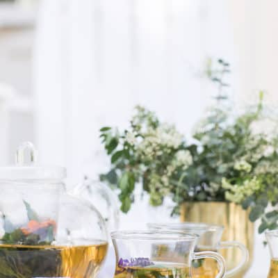 Three ways to use tea garden herbs