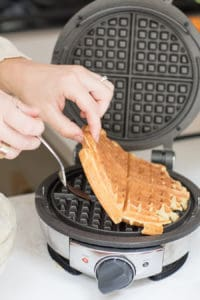 The Best Brown Butter Overnight Waffles Ever!