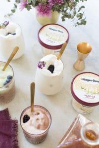 How to Make a Boozy Ice Cream Float Tray