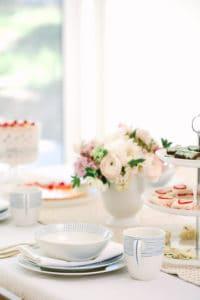 A Pretty Brunch With Macy's Wedding Registry