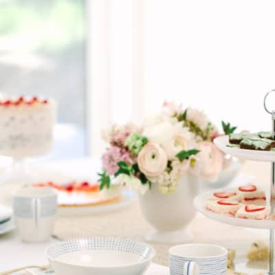 A Pretty Brunch With Macy's Wedding Registry