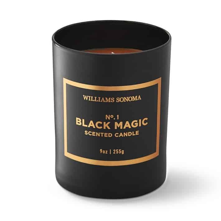 black magic candle to use for Halloween decorations