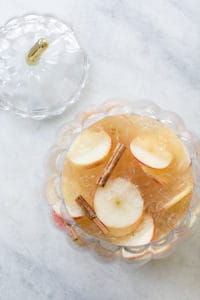 Hard Apple Cider Punch With Kombucha