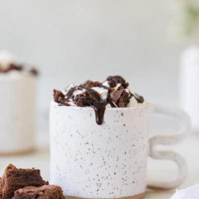 Caramel Brownie Coffee Recipe