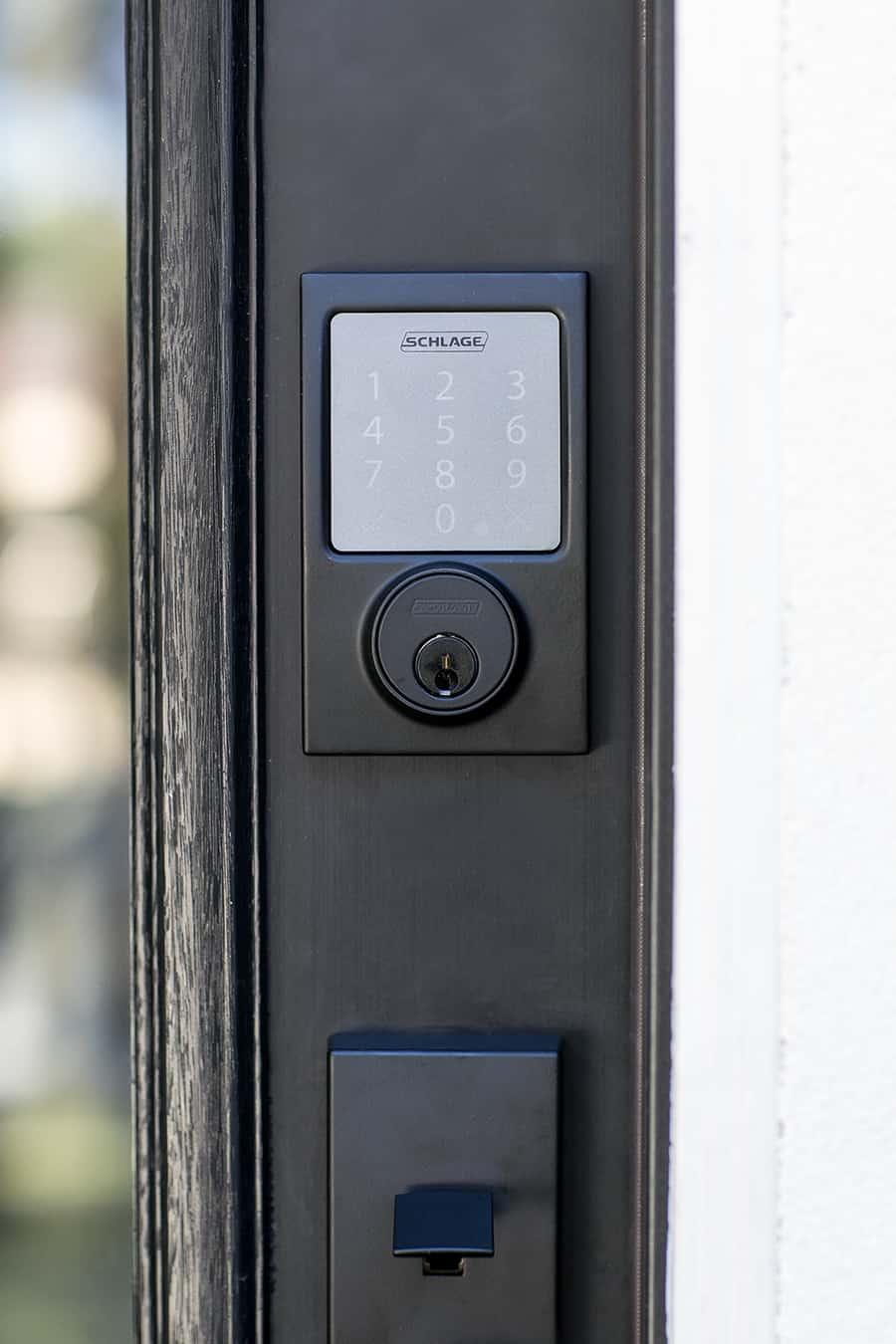 keyless entry door handle
