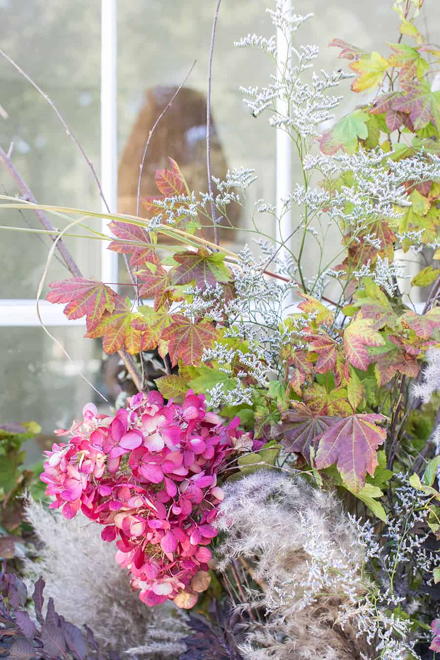 Flowers for a fall front porch