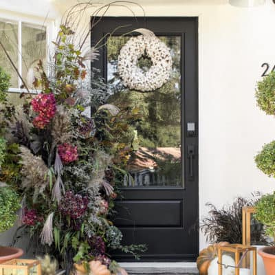 How to Create a Beautiful and Welcoming Fall Porch