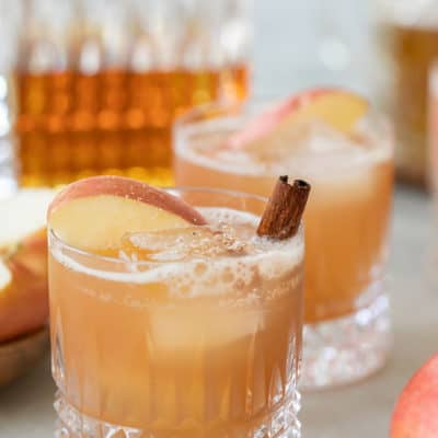 Apple Crisp Thanksgiving Cocktail