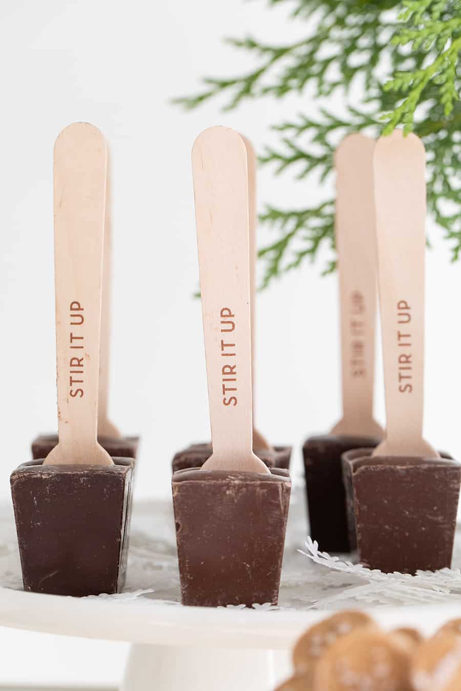 Stir it up hot chocolate sticks.