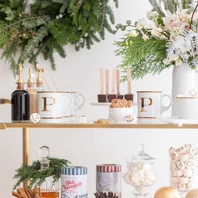 How to Create a Holiday Hot Chocolate Bar
