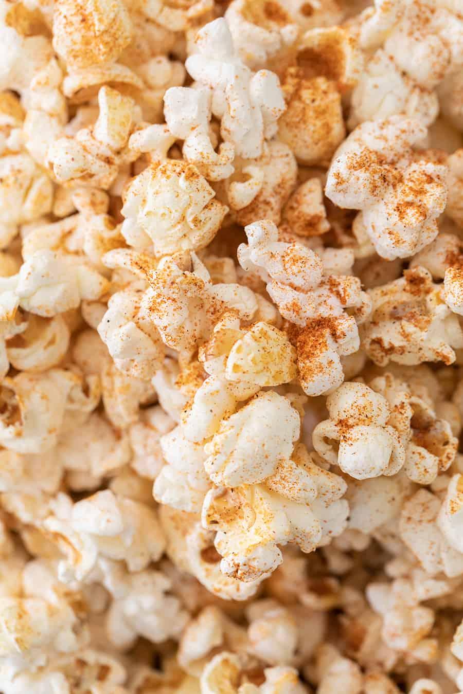 Old Bay Seasoning on Popcorn