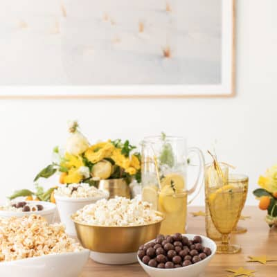 How to Host a Charming Oscar Party at Home