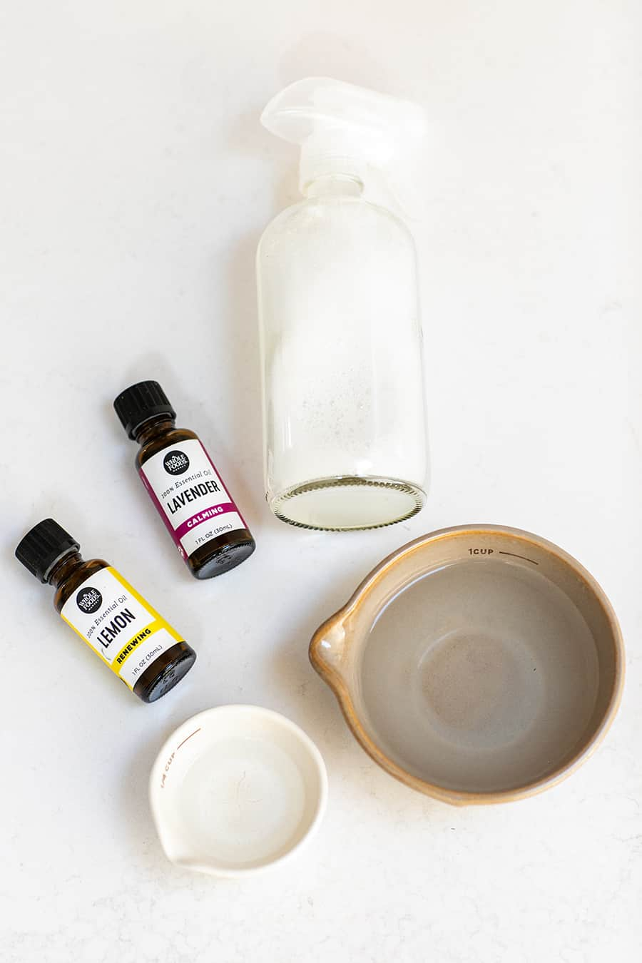 Essential Oils and Supplies to Make Natural Cleaning Products