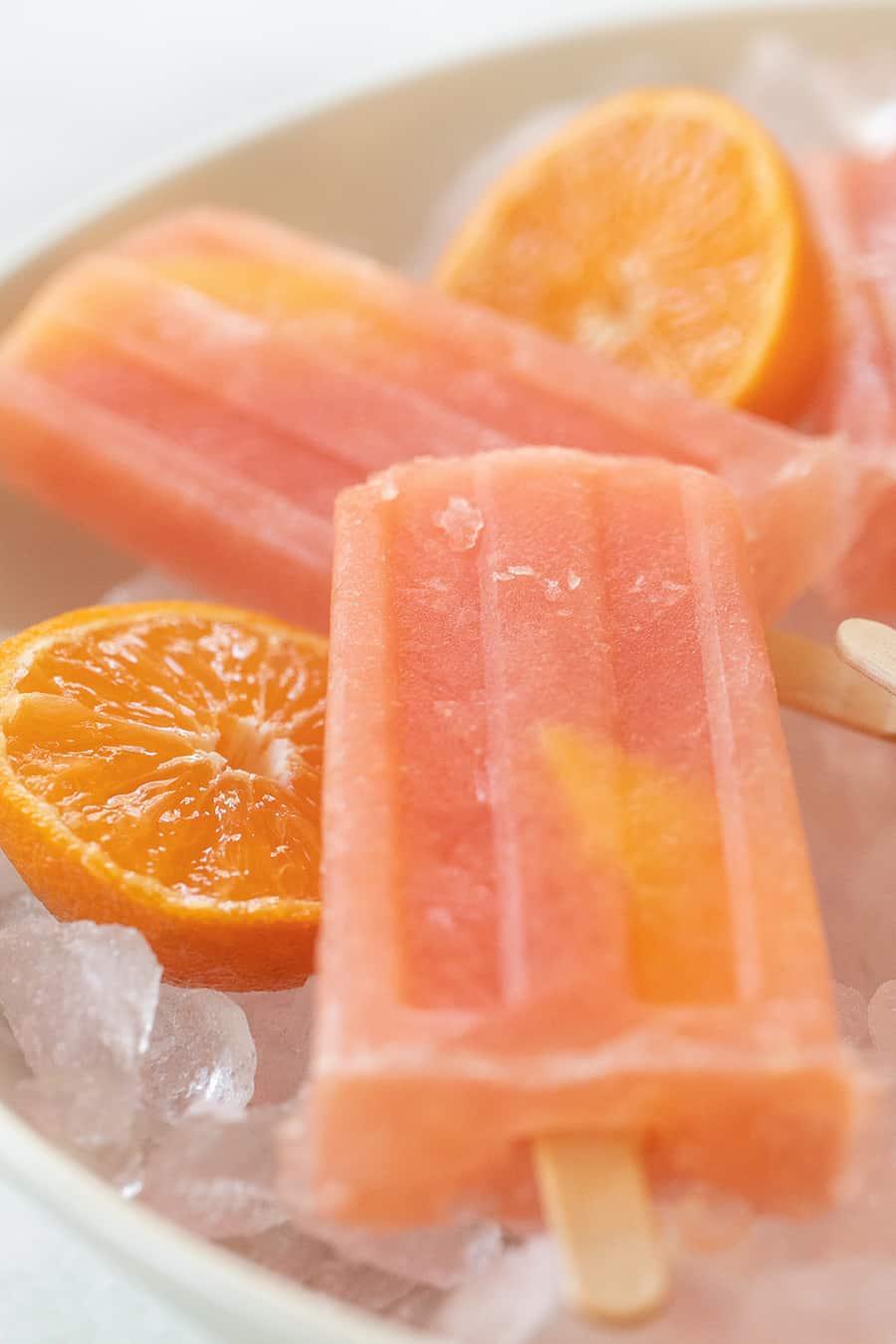 Grapefruit Negroni popsicle recipe